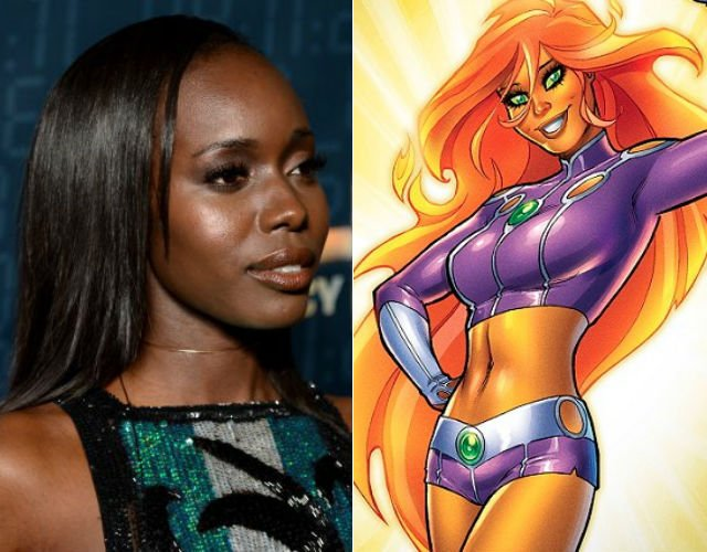 'Titans' Casts Anna Diop As Starfire