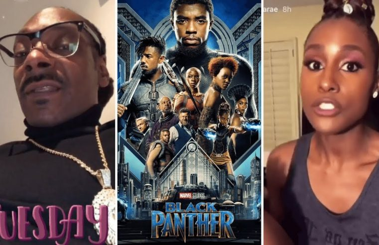Snoop Dogg & Issa Rae Reactions After Watching The Black Panther World Premiere