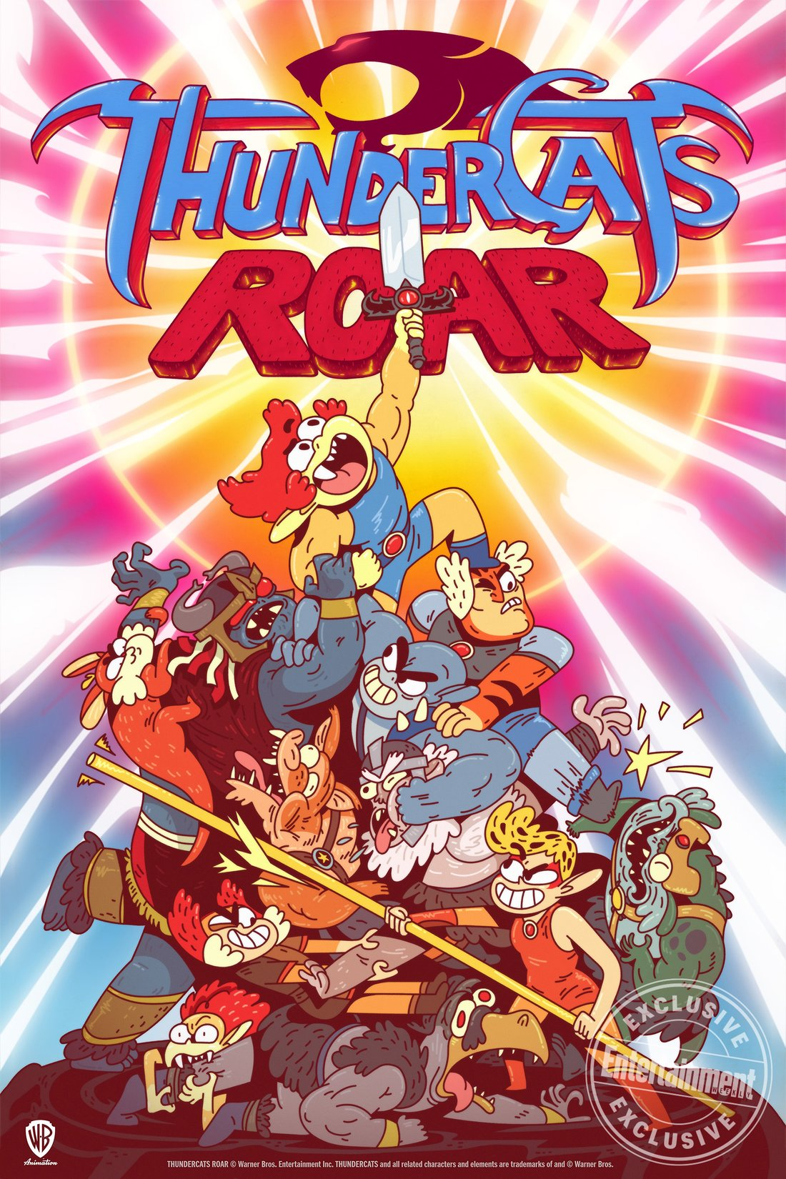 Cartoon Network is bringing back ThunderCats as a comedy!