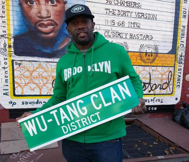 Wu Tang & NOTORIOUS BIG GETTING NYC STREETS NAMED IN THEIR HONOR