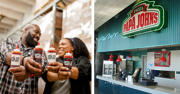 Papa John's Pizza Partners With Local Black-Owned Company to Offer Mambo Sauce Wings
