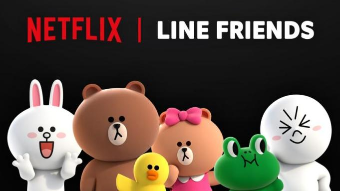 NETFLIX JOINS HANDS WITH LINE FRIENDS TO CREATE ORIGINAL ANIMATED SERIES